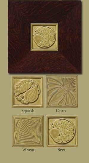 Garden Harvest Tiles - Gold - Clearance - Product Image