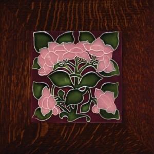 """Porteous 1A Tile - """"Hydrangea"""" - Product Image"""