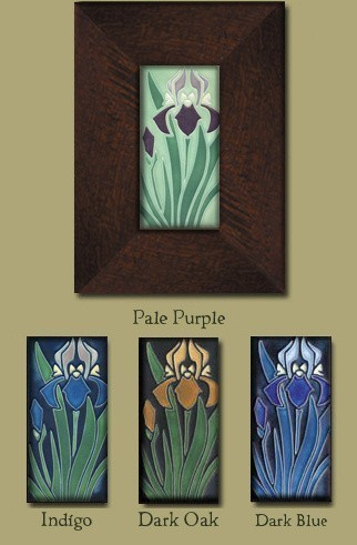 Iris Tile - Product Image