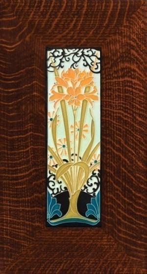 4 x 12 Amaryllis tile - Product Image