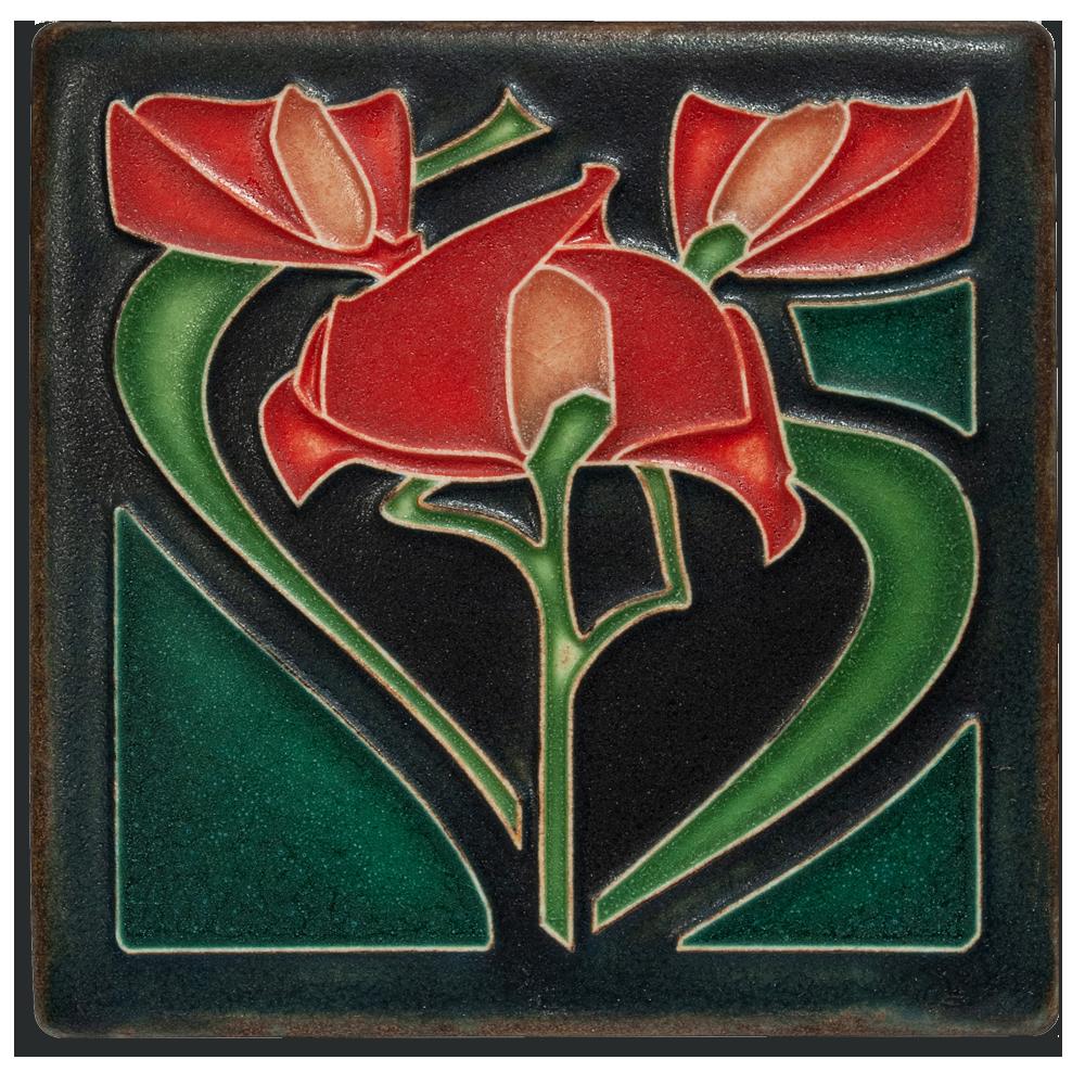 4 x 4 Freesia, Petunia, Tulip Bud - Product Image