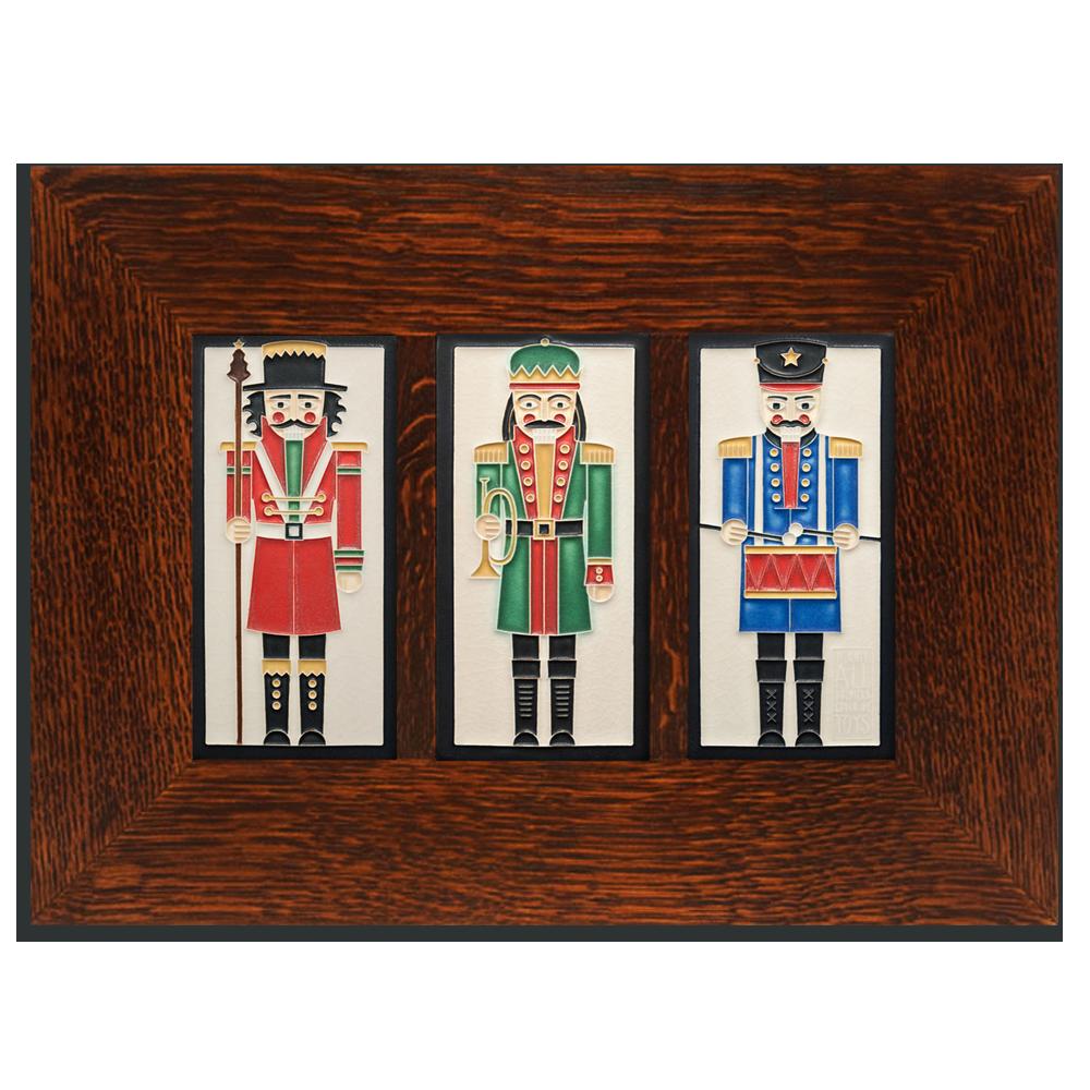 4 x 8 Nutcracker Framed Trio - Product Image