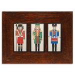 4 x 8 Nutcracker Framed Trio - Product Image
