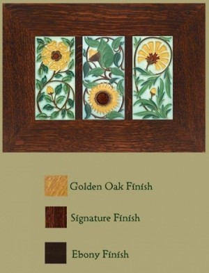 4x8 Floral Framed Trio - Product Image