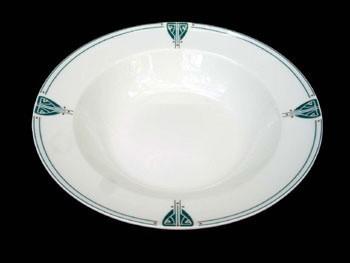 Viennese Pendant Rim Soup or Pasta Bowl - Product Image
