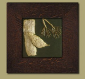 "Nuthatch 6"" Tile - Product Image"
