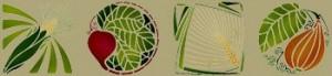 Garden Harvest Stencil - Product Image