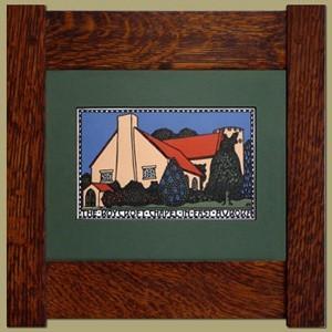 Roycroft Chapel Print - Product Image
