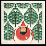 6 x 6 Coniferous Cardinal - Product Image