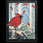 6 x 8 Winter Cardinals - Product Image