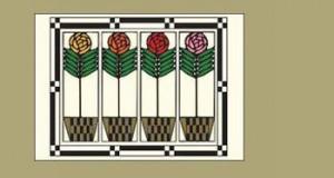Checkerpot Rose Postcard - Product Image