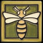 """Bee 4"""" Tile - Product Image"""