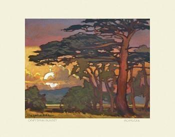 Craftsman Sunset, by Jan Schmuckal - Product Image
