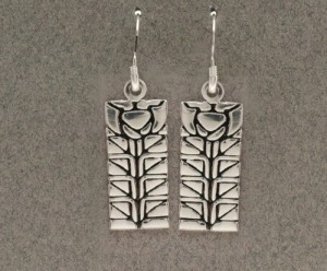 Dard Hunter Sterling Silver Jewelry, design #209 - Product Image