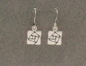 Dard Hunter Sterling Silver Jewelry, design #212 - Product Image