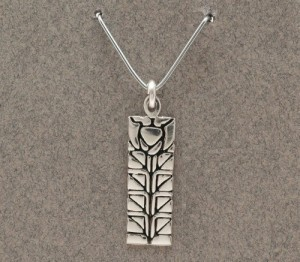 Dard Hunter Sterling Silver Jewelry, design #208 - Product Image