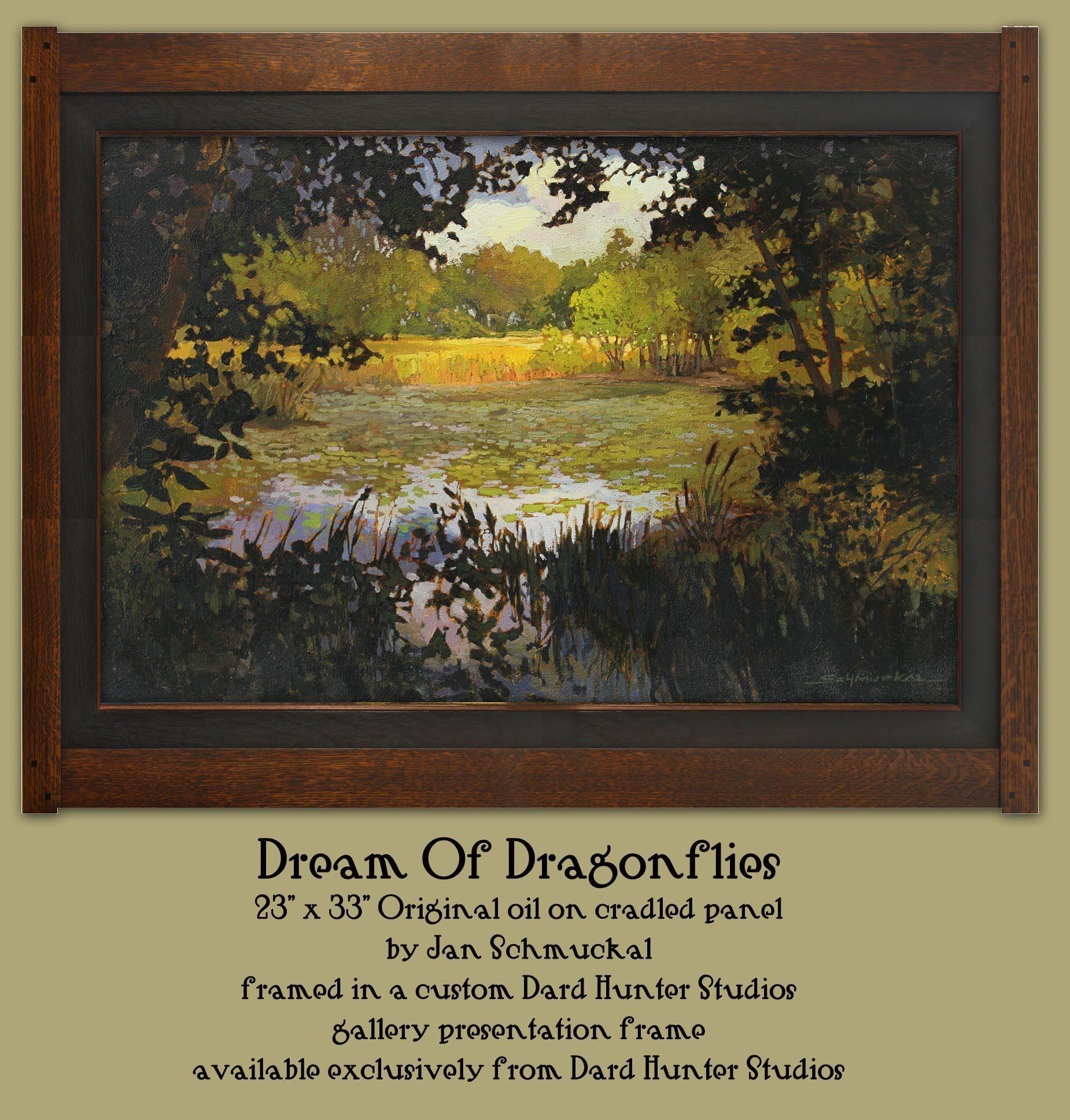 Dream of Dragonflies by Jan Schmuckal  - Product Image