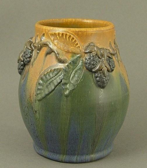 Ephraim's Heirloom Blackberry Vase - Product Image