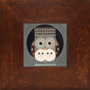 "Family Owlbum 6"" x 6"" tile - Product Image"