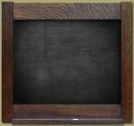 Framed Slate Chalkboard - Product Image