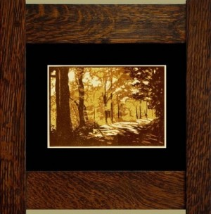 Grandma's Road, Laura Wilder's Signed Mini-giclee - Product Image