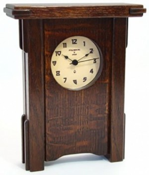 Greene and Greene Inspired Mantle Clock  - Product Image