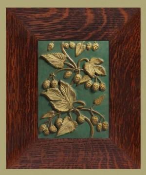 "Hops 8"" x 12"" Weaver Tile - Product Image"
