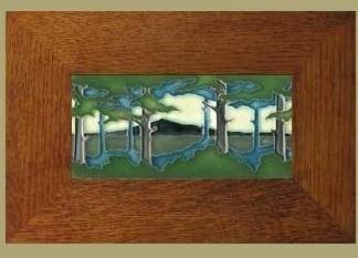 Horizontal 8x4 Pine Landscape - Product Image