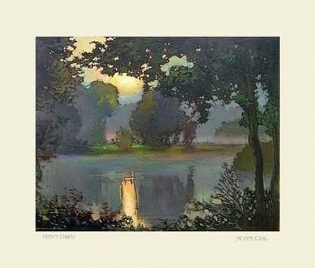 Misty Dawn, by Jan Schmuckal - Product Image
