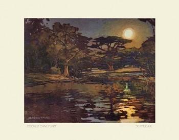 Moonlit Sanctuary, by Jan Schmuckal  - Product Image