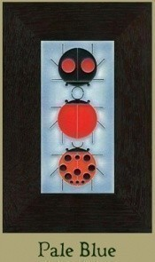 "NEW! Ladybug Sampler 4"" x 8"" tile - Product Image"