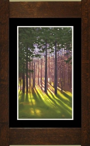 Pine Woods I, Laura Wilder's Limited Edition Giclee Print - Product Image