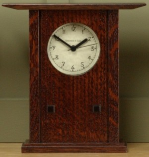 Prairie style Mantle Clock  - Product Image
