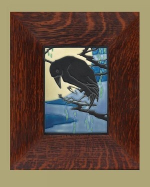 Raven Tile in Midnight - Product Image
