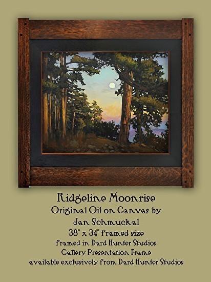 Ridgeline Moonrise by Jan Schmuckal - Product Image