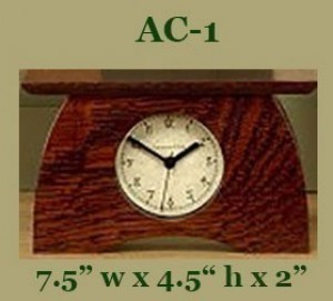 Schlabaugh Arts & Crafts Clocks - Product Image