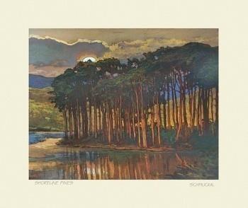Shoreline Pines, by Jan Schmuckal - Product Image