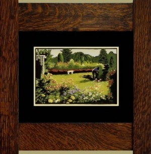 The Gardener, Laura Wilder's Signed Mini-giclee - Product Image