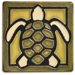 "Turtle 4"" tile - Product Image"