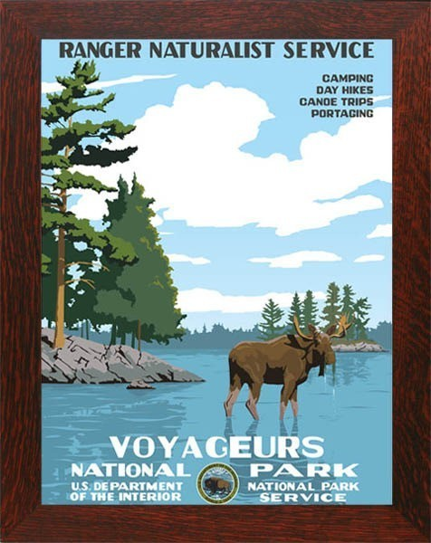 Voyageurs National Park WPA  - Product Image
