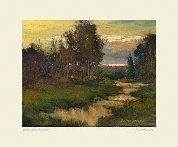 Wetland Dusk, by Jan Schmuckal - Product Image