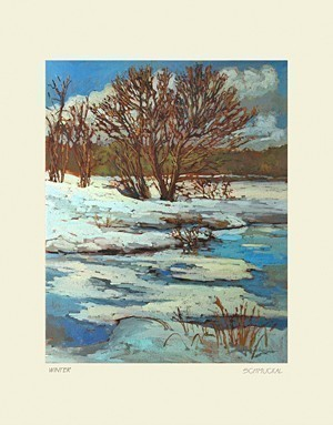 Winter, by Jan Schmuckal - Product Image