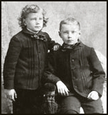 Young Dard and Phil Hunter, circa 1892