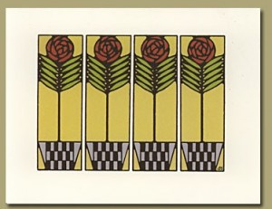 Cabbage Rose Notecards - Product Image