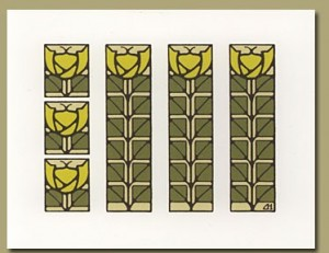 Classic Tulip Notecards - Product Image