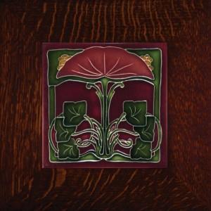 """Porteous 51B Tile - """"Trumpet Flower"""" - Product Image"""