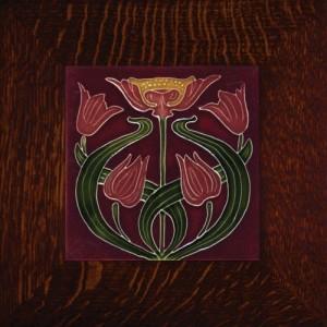 "Porteous 54 Tile - ""Blood Lily"" - Product Image"