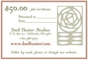 Gift Certificates - Product Image