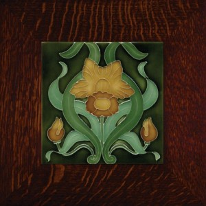 "Porteous 82A Tile - ""Narcissus"" - Product Image"
