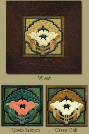 """6"""" Poppy Tile - Clearance Colors - Product Image"""